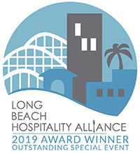 Long Beach Hospitality Alliance 2019 Award Winner - outstanding special event